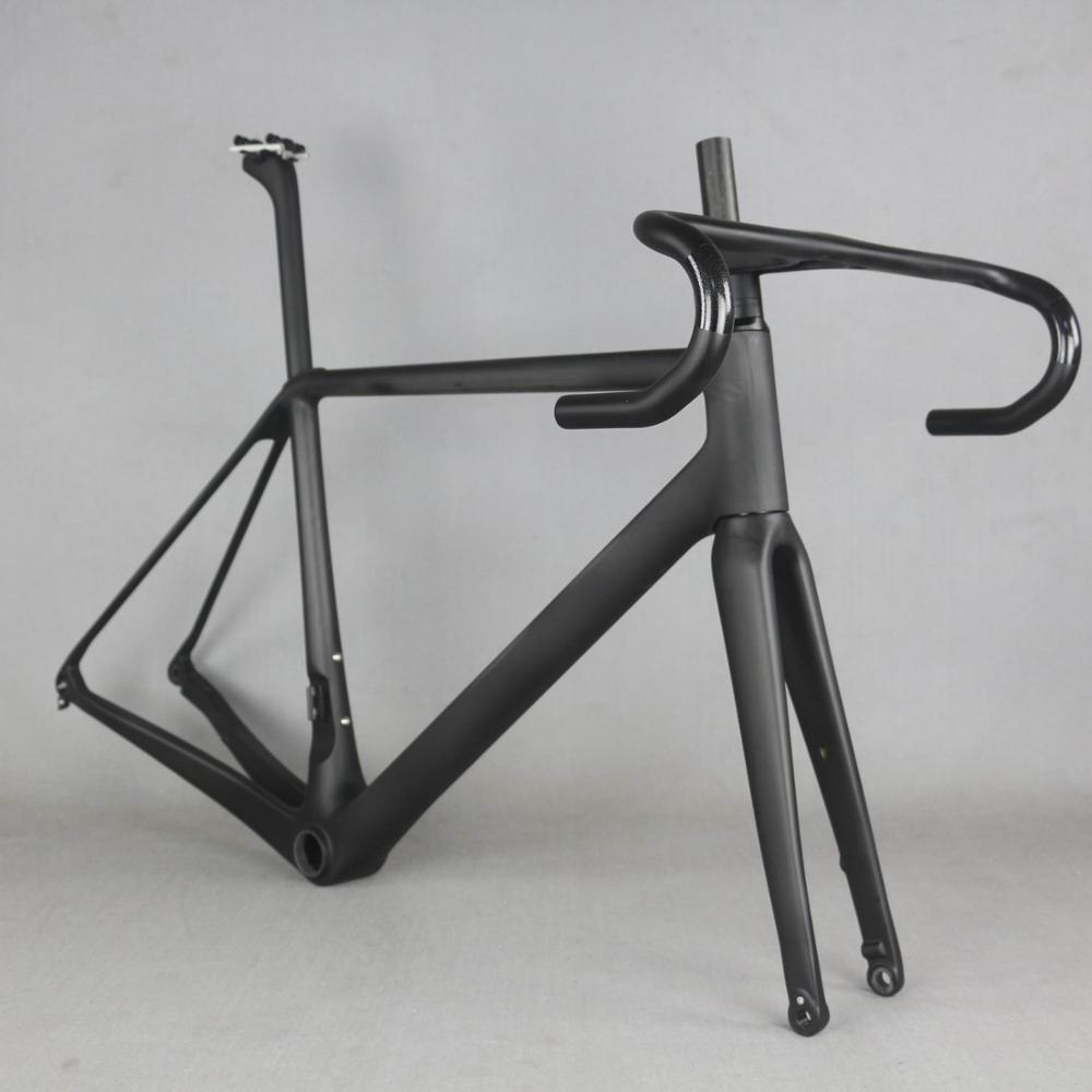 2020 SERAPH New  All Inner Cable  Disc Road Carbon Frame . Bicycle Frameset Include Carbon Fork Carbon Seatpost