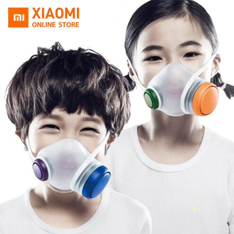 In Stock New Xiaomi Mi Woobi Children's Kid Face Mask Anti Virus With Filter For Anti Germ Protection Respirator
