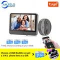 Smart WiFi Video Türklingel Guckloch Türklingel Viewer Home PIR Motion Detection Sicherheit Monitor Erkennung Tuya APP Fernbedienung