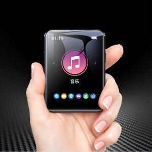 Image 2 - Yeni BENJIE X1 Bluetooth MP3 çalar 16GB Mini dokunmatik ekran müzik çalar desteği FM radyo e kitap Video oynatıcı inşa hoparlör