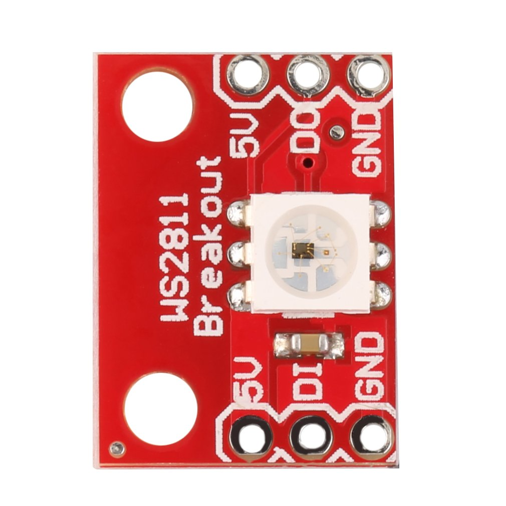 Hot <font><b>WS2812</b></font> 1-Bit <font><b>5V</b></font> 5050 RGB LED Lamp Panel Module Full Color For Arduino Wholesale image