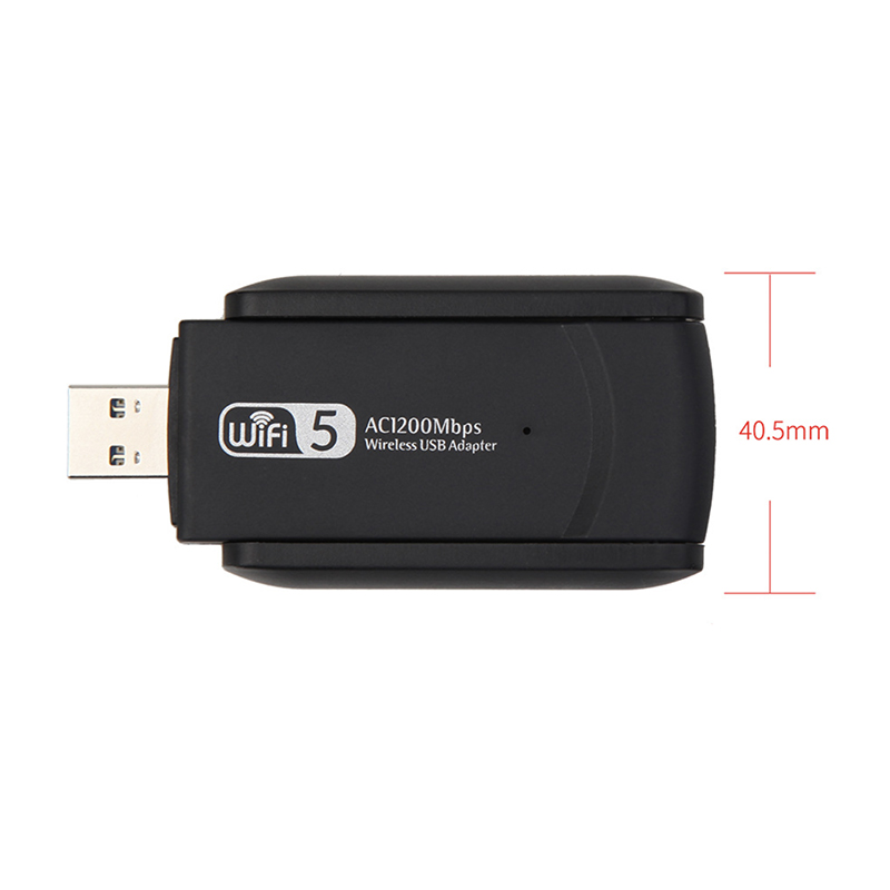 1200Mbps Fast Wireless USB Wifi Adapter Free Driver USB 3.0 LAN Ethernet Dual Band USB Network Card AC Wi-Fi Receiver Dongle 5