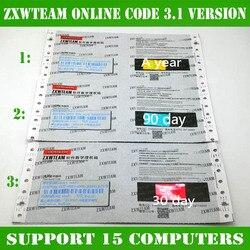 On-line ZXW Team 3.0 Schemi Digitale Codice di Autorizzazione di Zillion X Lavoro schema elettrico per il iPhone iPad Samsung scheda logica