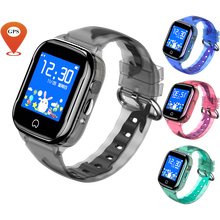 2019 New Smart Watch Kids GPS Waterproof HD Touch Screen SOS Phone Children Fit SIM Card IOS Android Wristwatch