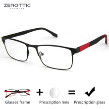 ZENOTTIC Alloy Progressive Prescription Glasses For Men Wome