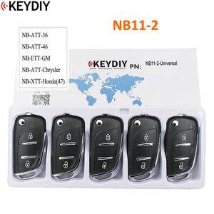 Image 2 - 5PCS, Multi functional Universal Remote Key for KD900 KD900+ URG200 NB Series , KEYDIY NB11 (all functions Chips in one Key)