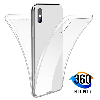 Double TPU Clear Case For Xiaomi Mi 9 8 SE A1 A2 Lite Redmi Note 7 6 5 Pro 5A Prime 4X 4 Global 6A 6 Pro 5 Plus S2 Full Cover image