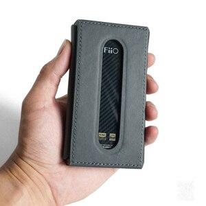 Image 1 - DD C M11 o C M11 Pro Funda de cuero para FiiO M11/pro reproductor de música, cubierta de cuero DAP, solo Funda de cuero no incluye fiio M11