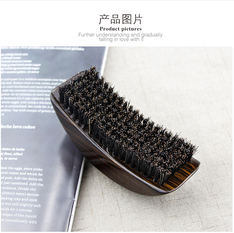 Onda de cerdas cabelo barba escova pente