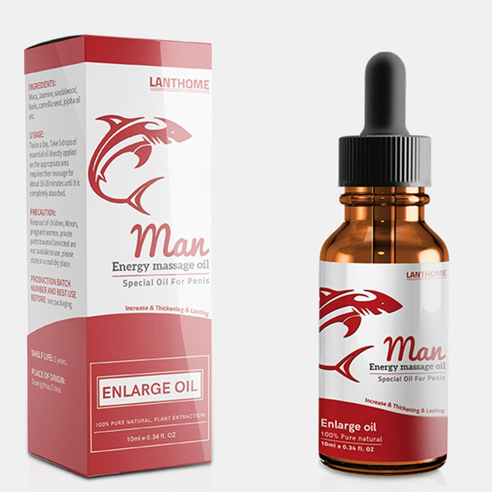 10ml Men Body Care Energy Massage Essential Oil Penis Enlargement Adult Product effectively make penis thicken delay sex time
