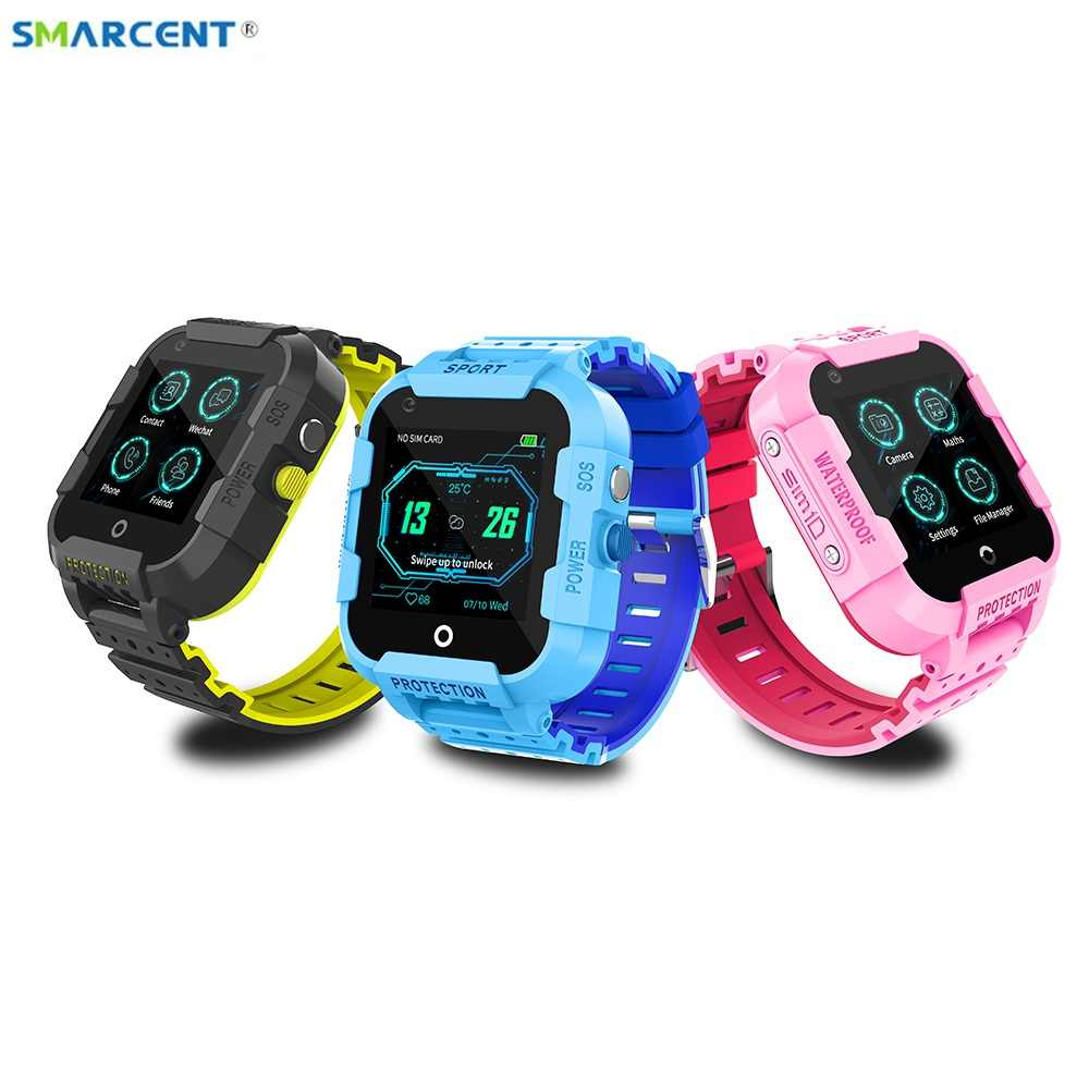 DF39 4G Kids Smart Watch supports sim card GPS Wifi LBS tracker watch SOS call  Camera baby watch pk df33 A36E