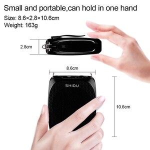 Image 5 - Shidu s615 ultra sem fio amplificador de voz uhf portátil mini alto falante áudio usb lautsprecher para professores tourrist yoga instrutor