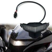 For Kawasaki Z1000 Z 1000 2014-2019 Motorcycle Accessories Front Center Marker LED Pilot Light Headlight Headlamp Fog Lamp Head motorcycle headlight front headlamp light fits 2013 2014 for kawasaki z800 z250 dedicated