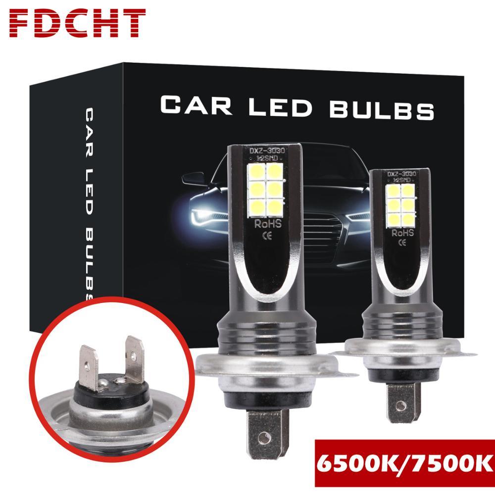 FDCHT Turbo Super Mini Kit H1 H11 Led H4 H7 Led H3 H8 9005 9006 Hb3 Hb4 Motorcycle Led Lamp Car Headlight Bulb Canbus Fog Light