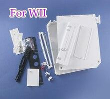 Für Nintendo Wii Fall Abdeckung Gehäuse Shell Mit Voller Knöpfe Ersatz Mit einzelhandel verpackung abdeckung für wii zubehör konsole
