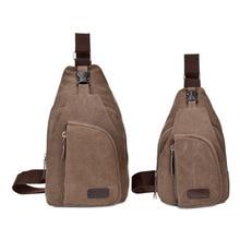 Корейский стиль, повседневный мужской кошелек, нагрудный пакет, Спортивная холщовая мужская сумка, многофункциональная уличная маленькая сумка на плечо, модная сумка