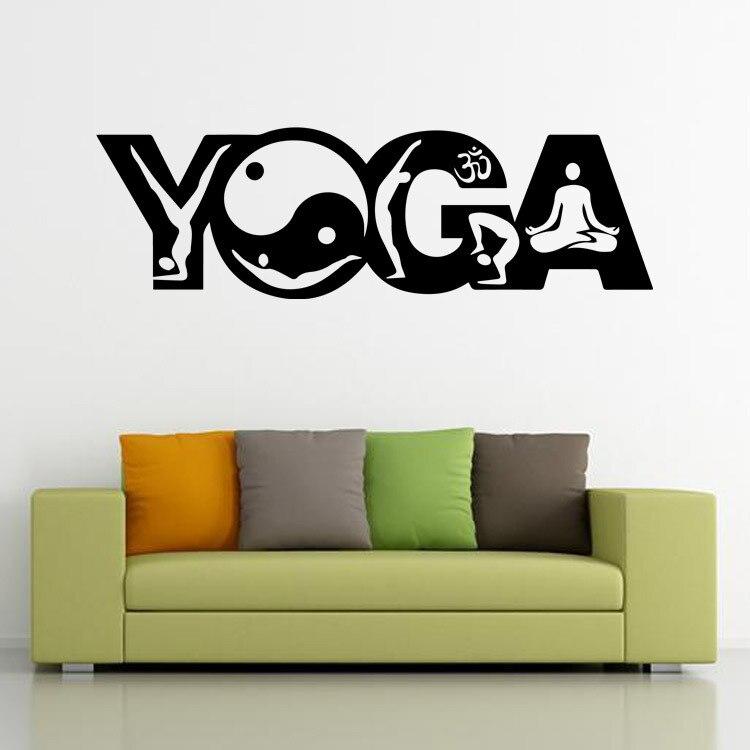 India Boeddhistische Kunst Cultuur Yoga Muurstickers Woonkamer Slaapkamer Mandala Zen Muurstickers Religie Muurschilderingen