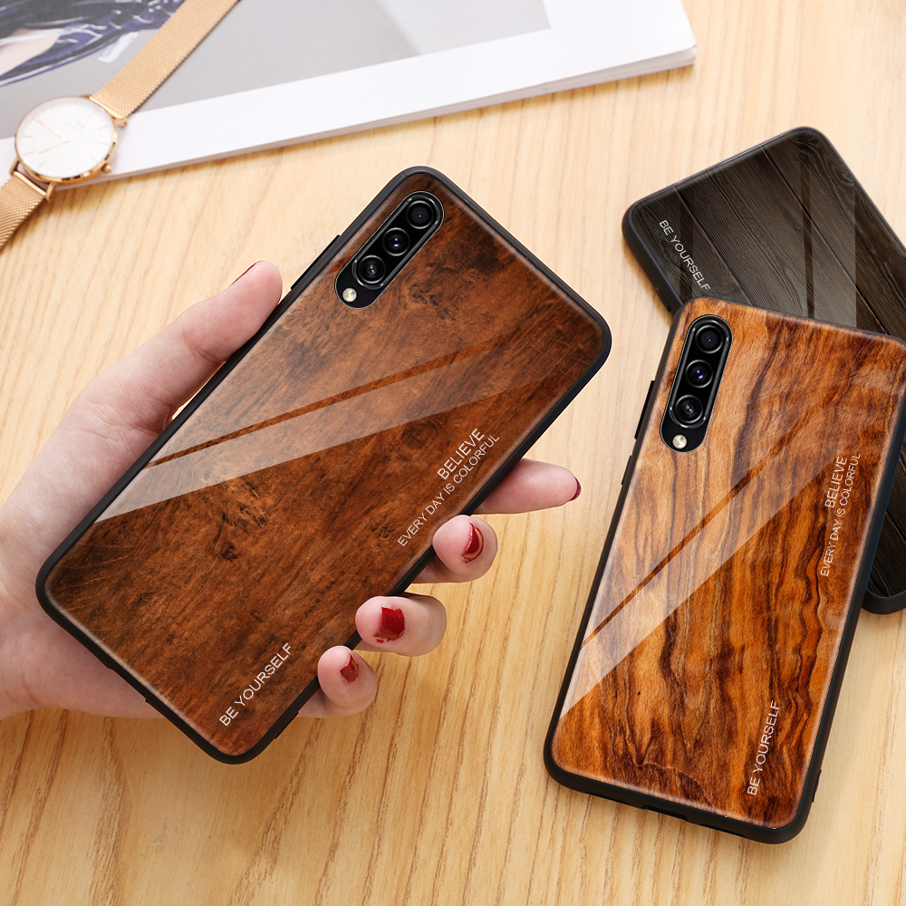 Shockproof Tempered Glass Case For <font><b>Samsung</b></font> <font><b>Galaxy</b></font> <font><b>A50</b></font> SM <font><b>A505F</b></font> A 50 Case A10 A20 A40 Phone Case For <font><b>Samsung</b></font> A30 A305F A 30 Cover image