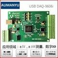 USB карта сбора данных Высокоскоростная карта сбора 8 каналов 16 бит AD 8 каналов DIO Labview