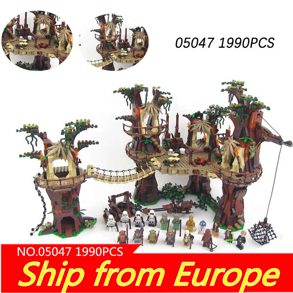 05007 millennium Star Plan falconed Force Awakens Building Block THE starwars Treetop Ewok Village 10236 75105 bricks toys 05047
