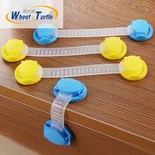 10 шт/Лот пластиковые блокираторы шкафов для безопасности детей