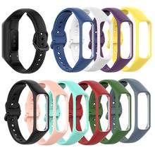 Hot Sale Colorful Replacement Soft Smart Bracelet Wrist Strap Band for Samsung Galaxy Fite R375