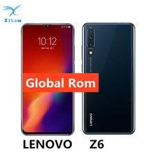 "Küresel ROM Lenovo Z6 Snapdragon 730 6GB 64GB Smartphone Quad kameralar 6.39 ""OLED ekran ekran parmak izi 4G LTE cep telefonları"