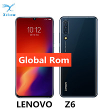 """グローバル Rom レノボ Z6 Snapdragon 730 6 ギガバイト 64 ギガバイトスマートフォンクアッドコアカメラ 6.39 """"有機 El ディスプレイ画面で指紋 4 4G LTE 携帯電話"""