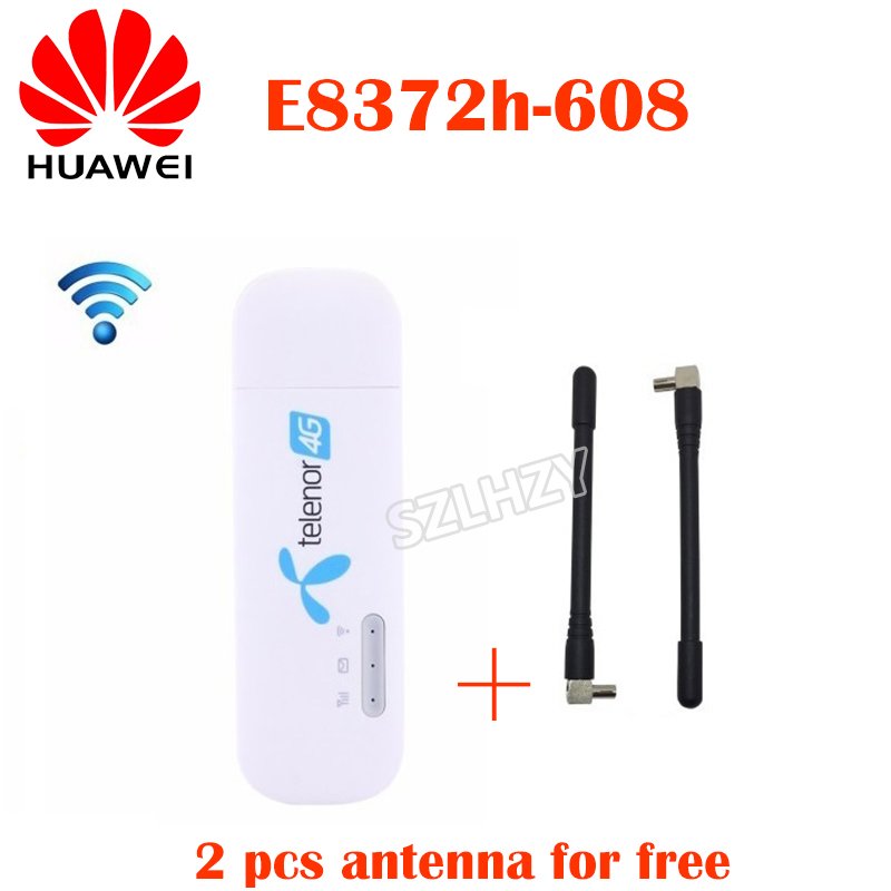 Huawei Antenna Wifi-Modem Usb-Dongle Sim-Card-Slot E8372h-153 Car-Wifi Unlocked LTE 4G