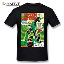 Green Lantern T Shirt Get Off This Earth Hal Jordan T-Shirt Funny Short-Sleeve Tee Printed Casual Men 100 Cotton Tshirt