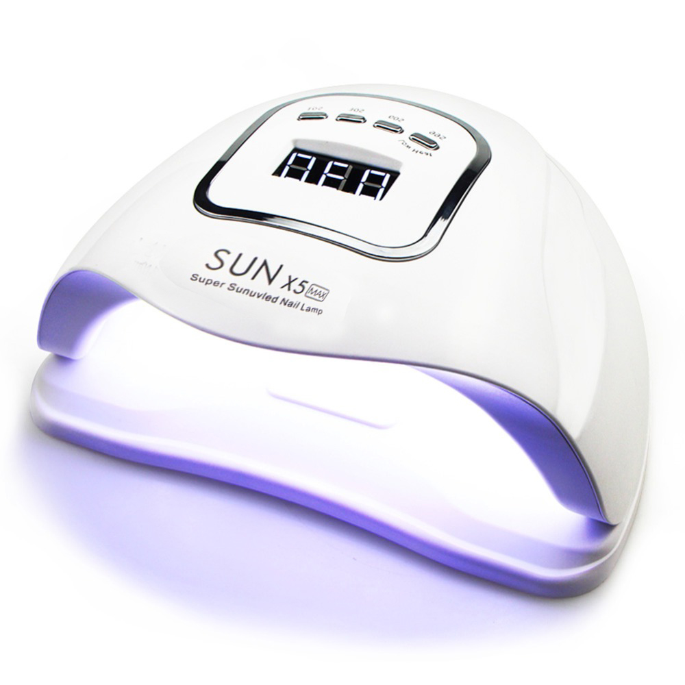 80W LED Nail Lamp Nail Dryer Dual Hands 45 PCS LED UV Lamp For Curing UV Gel Nail Polish With Motion Sensing Manicure Salon Tool