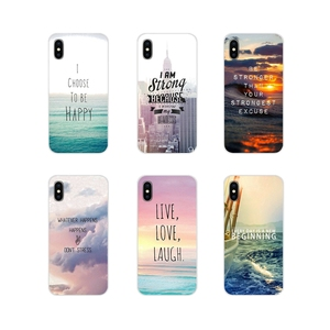 Transparant Soft Case Cover Voor Xiaomi Redmi 4A S2 Note 3 3S 4 4X5 Plus 6 7 6A Pro Pocophone F1 Positieve Motivatie Life Quotes(China)