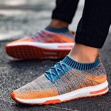 Mens Trainers Mesh Man Sneakers Men Casual Shoes