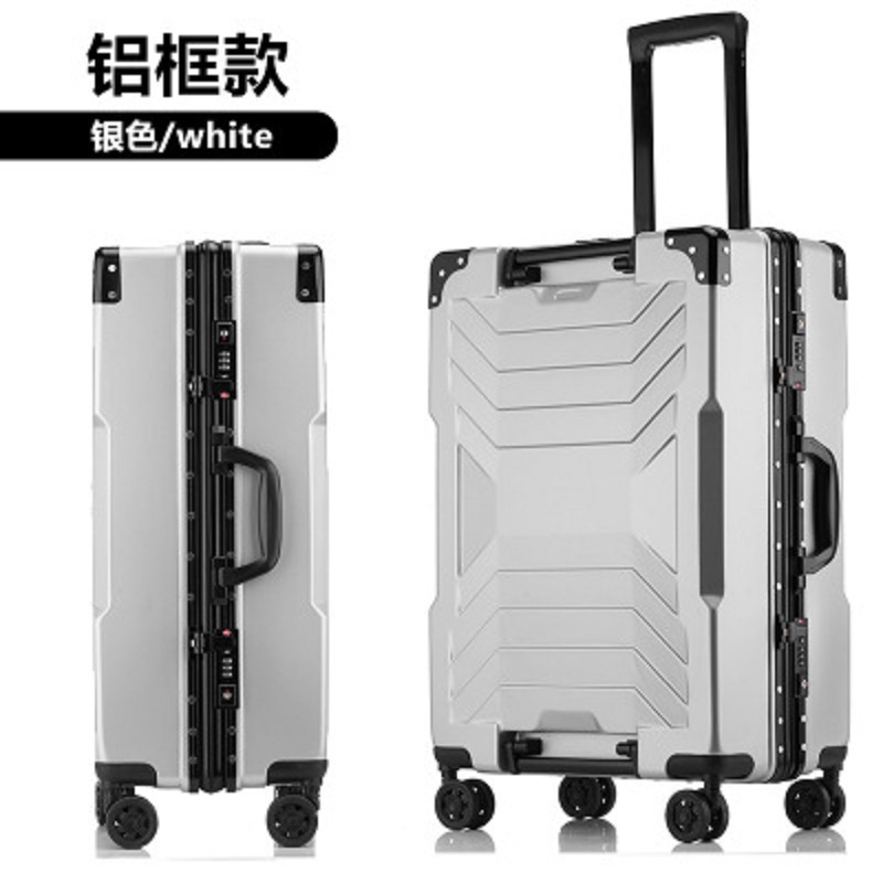 Travel Tale 100% Aluminum Frame Boarding 20/24/26/28 Inch Size High Quality Rolling Luggage Spinner Brand Travel Suitcase