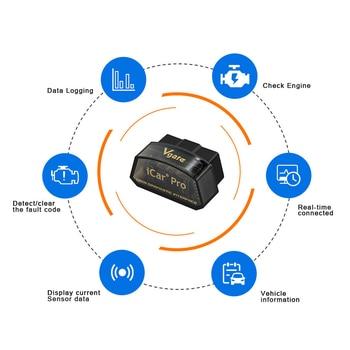 Vgate iCar Pro ELM327 OBD2 Scanner Auto Tools OBD 2 WIFI Bluetooth-Compatible 4.0 For IOS ODB2 Car Diagnostic PK ELM 327 V 1 5 2