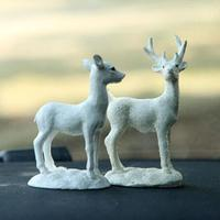 HobbyLane Resin Deer Car Accessories Cute Car Decoration Automotive Ornaments Auto accessories styling