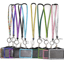 Lanyard Sling-Cards Badge Id-Case-Holder Business-Rope School-Supplies Horizontal Office
