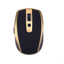 Fashion Mouse Rechargeable Wireless Mini Bluetooth 3.0 1600Dpi Optical Gaming Mouse Mice For Computer Laptop Notebook Gamer rechargeable bluetooth 3 0 optical mouse for laptop notebook – black