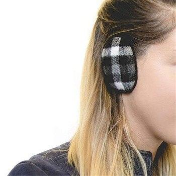 Adult Women Man Winter Earbags Bandless Ear Warmers Earmuffs Ear Cover Gift Orejeras De Invierno Cache Oreille SeaWd3