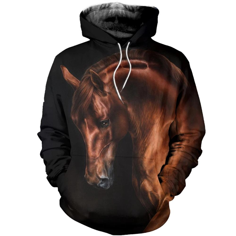 PLstar Cosmos Animal Champion Medal Horse Racing 3d Hoodies/Sweatshirt Winter Autumn Long Selvee Harajuku Streetwear-6
