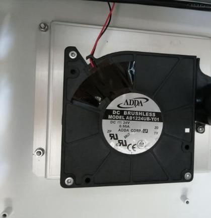 MC24S6HQDNX 12032 24V double ball mute computer case fan 12cm frequency converter fan