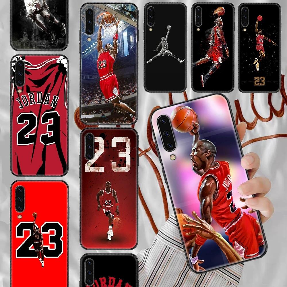 Basketball Jordan 23 Phone case For Samsung Galaxy A 3 5 7 8 10 20 21 30 40 50 51 70 71 E S 2016 2018 4G black soft coque trend