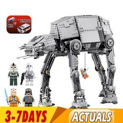 DHL 1167pcs Star Wars Motorised Walking AT-AT Electric Remote Control Building Blocks Toys Compatible 81052 05050 10178