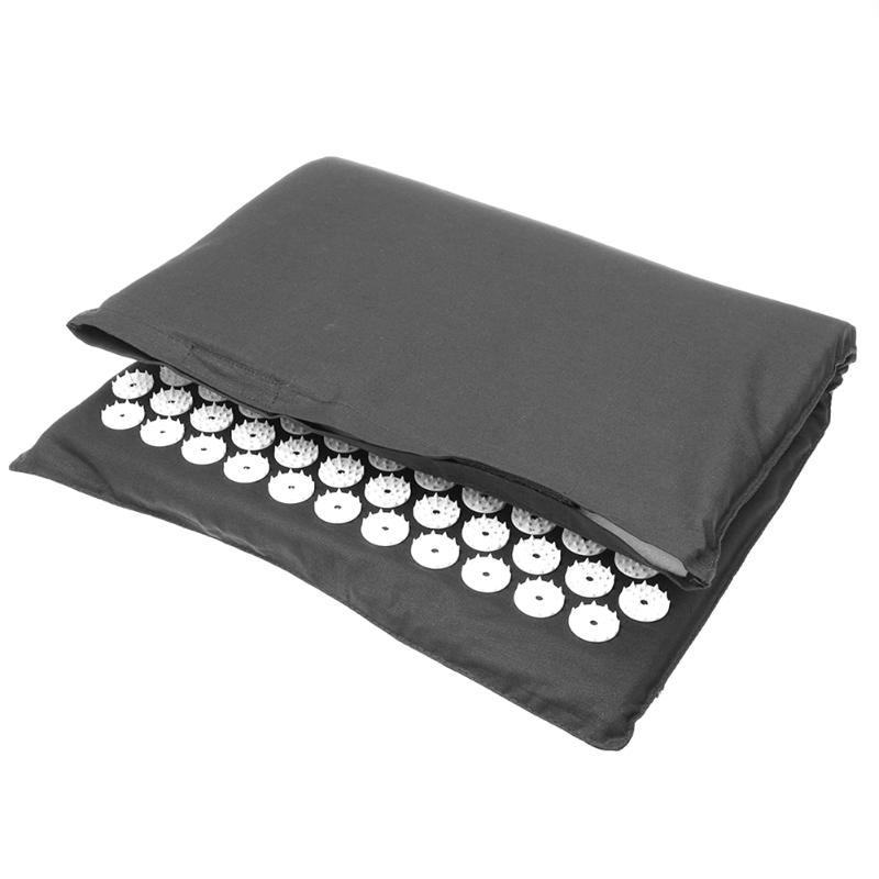 Acupressure Massage Mat with Pillow set to body Relaxation to Release Stress and Tension 7