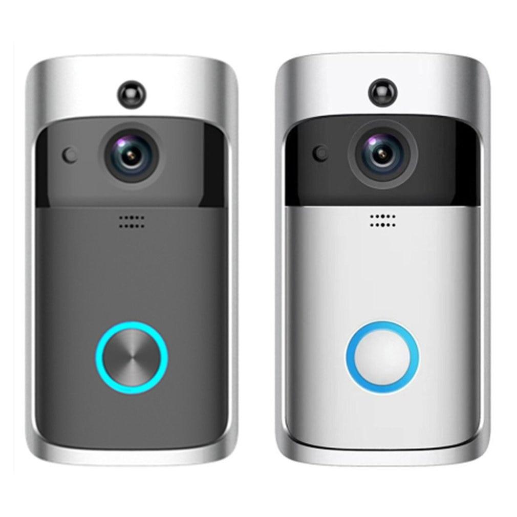 Video Doorbell Camera Wireless Doorbell Intercom Phone Picture Video Home Security Receiver Smart WiFi Doorbell