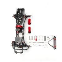 1/10 RC Car Frame Kit CNC Aluminum Alloy Car Frame Set for SCX10 AXIAL RC Crawler Climbing Car DIY Parts & Accessory