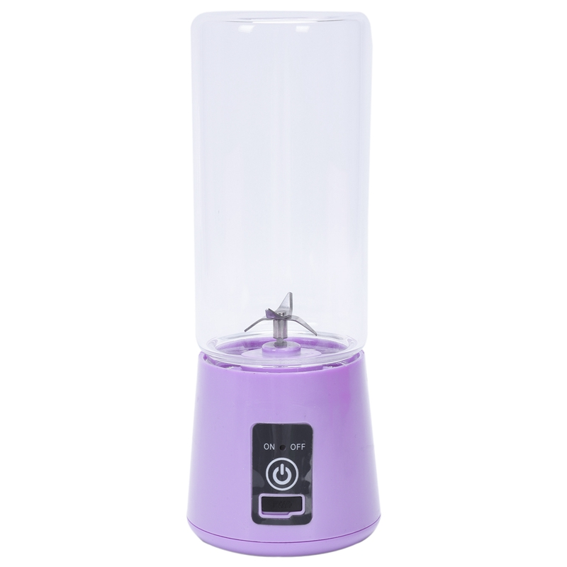 420Ml Portable Juice Blender Usb Juicer Cup Multi Function Fruit Mixer 4 Blade Mixing Machine Smoothies Baby Food|Juicers| |  - title=