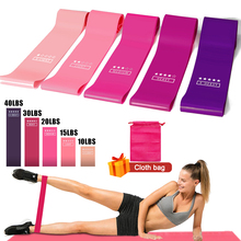 Yoga Elastic Resistance Bands Set Workout Equipment Indoor Training Fitness Gum Exercise Resistance Sport Rubber Loop Bands