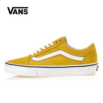 цена Original Leisure Vans Old Skool Low Shoes Women Sneakers Unisex Skateboarding Vans Men Shoes VN0A38G1VRQ онлайн в 2017 году
