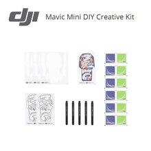 DJI Mavic Mini DIY Набор для творчества Персонализация Mavic Mini включает в себя пустые наклейки в виде ракушки и красочные маркеры